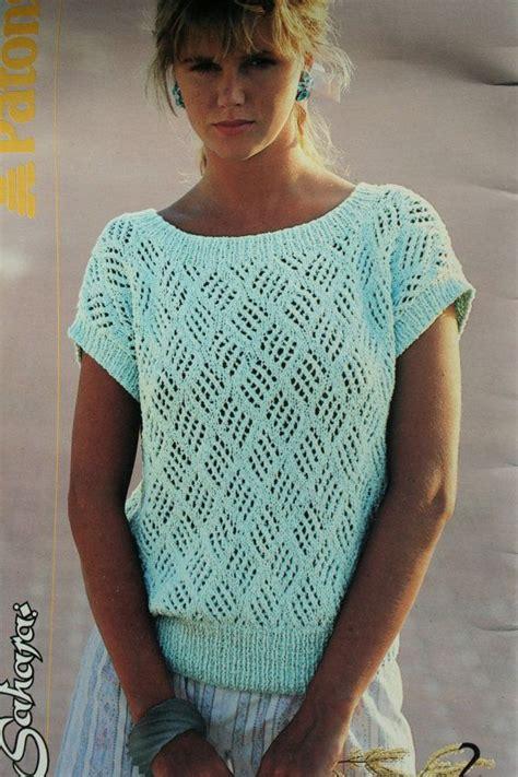 summer knitting patterns sweater knitting patterns summer cotton