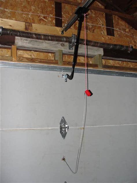 overhead door emergency release don t get locked out of your garage