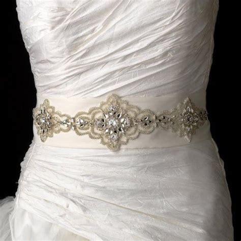 beaded belts for dresses elaborate beaded rhinestone ivory wedding dress belt sash