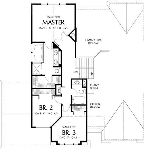 tri level home plans designs tri level narrow lot plan 69373am architectural designs house plans
