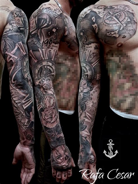 chicano sleeve tattoo tattoo pinterest chicano
