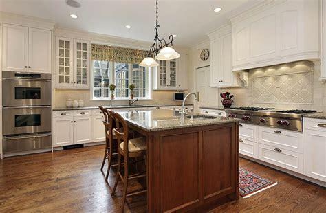 white kitchen wood island farmhouse kitchen cabinets door styles colors ideas designing idea