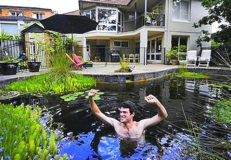 how to make a pool in your backyard building a backyard pond by converting your swimming pool
