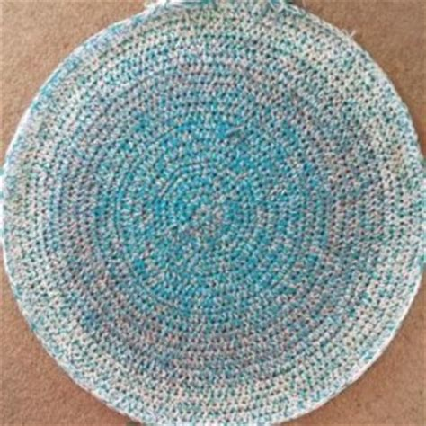 how to crochet a rag rug learn how to crochet a rag rug look at what i made