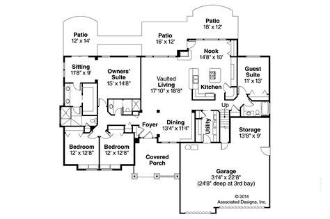 craftsman plans 30 harmonious craftsman floor plans home building plans