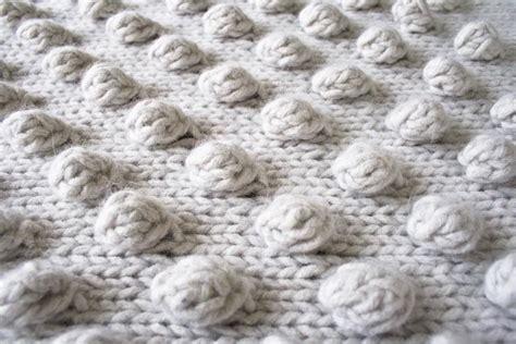 knitting bobbles falling bobbles blaket by purl soho lanecardate