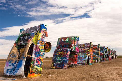 The Cadillac Ranch by Cadillac Ranch Amarillo Tx Everyday Nature