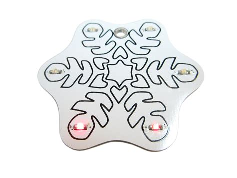 electronic ornaments electronic led snowflake ornament kit lights from