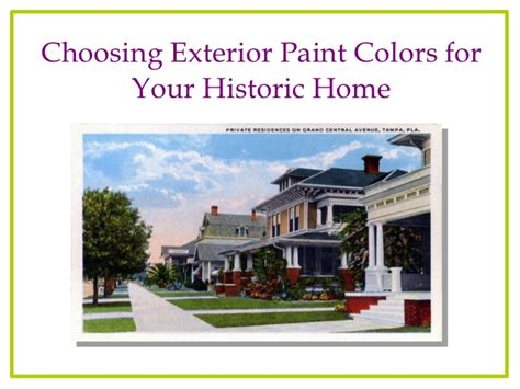 paint colors for your home choosing exterior colors for your historic florida house