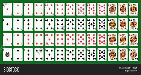 Cards Deck Ace Spade Image Photo Bigstock