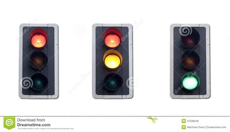 sequence lights traffic lights sequence royalty free stock photos image