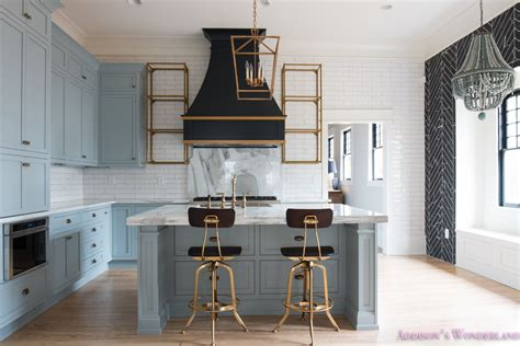 classic vintage modern kitchen blue gray cabinets inset classic vintage modern kitchen blue gray cabinets inset