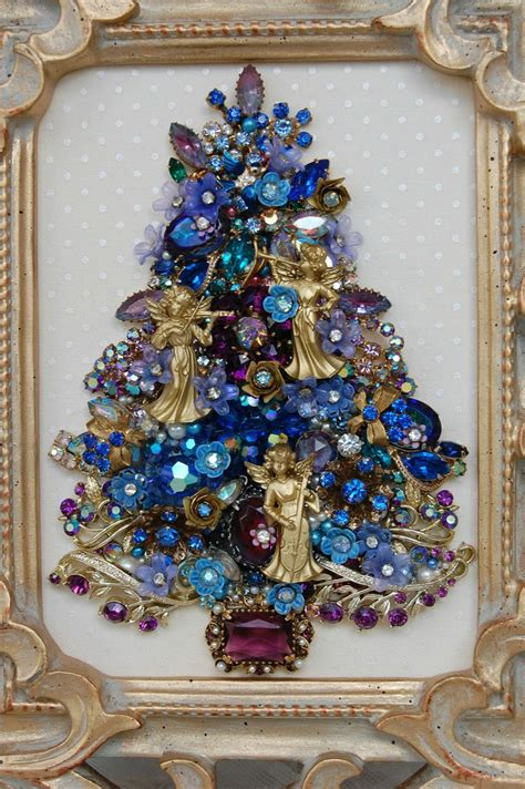 how to make a vintage jewelry tree vintage jewelry tree my made 3 of