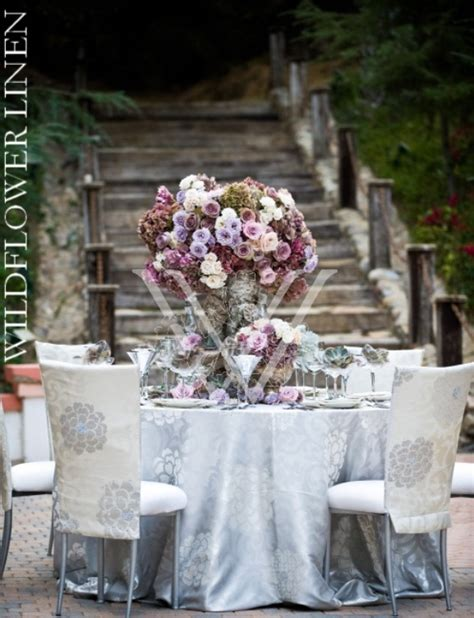 silver table decorations for white and silver wedding theme weddings romantique
