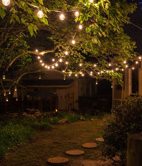garden patio lighting patio string lights and bulbs