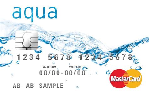 how to make a advance on a credit card advance card credit card by aqua moneywise compare
