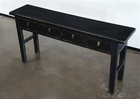 black sofa tables black console sofa entry table with drawers altar