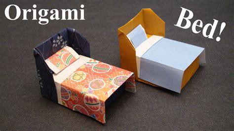 how to make a origami bed papercraft 193 guia de origami papercraftsquare