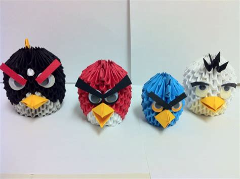 origami angry birds angry birds album shawn 3d origami
