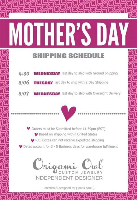 origami owl shipping celebrate with origami owl
