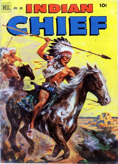 indian picture books indian chief 6 dell comics western publishing