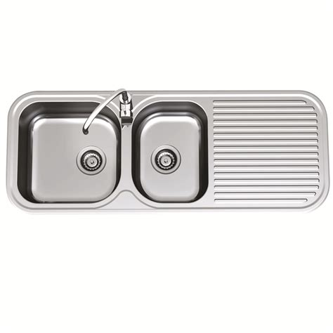 bunnings kitchen sinks blanco bowl clark 1 75 1230mm advance sink end bowl 1th lhb bunnings