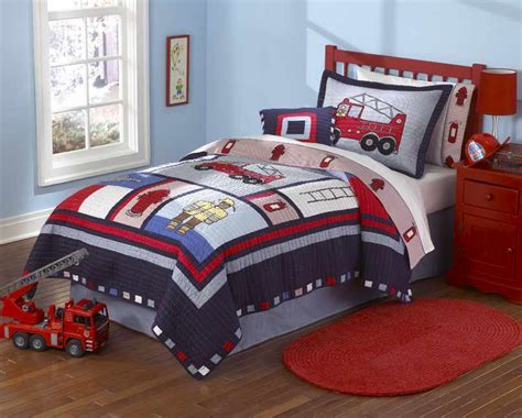 boys bed set cars bedding truck and car quilt sets for