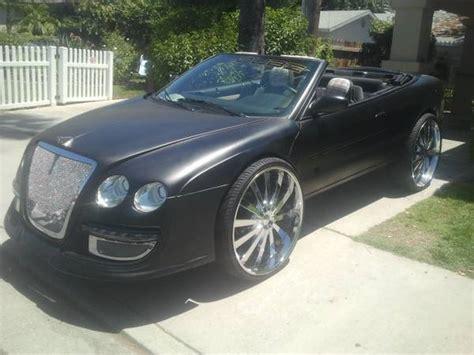 Bentley Kit For Chrysler 300 by Chrysler 300 2 Door Conversion
