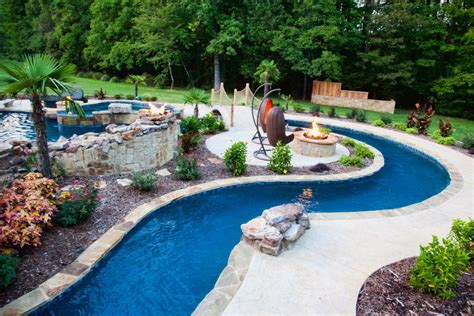 lazy river pools for your backyard backyard lazy river pool design with liner and