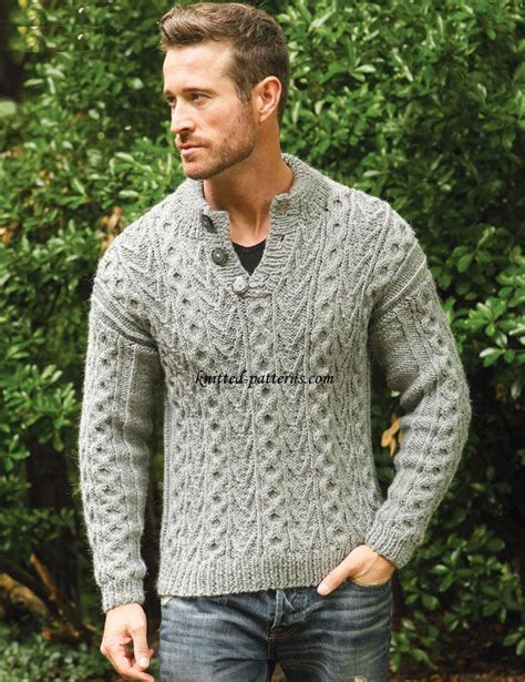 mens knitting patterns 17 best ideas about sweater knitting patterns on