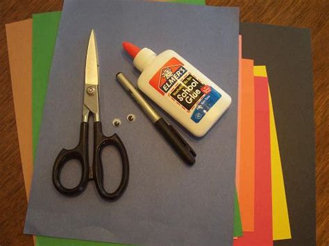 crafts with construction paper and glue our crafts n things 187 archive 187 letter of the week