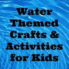 water themed crafts for 1000 images about world water day d 237 a mundial agua