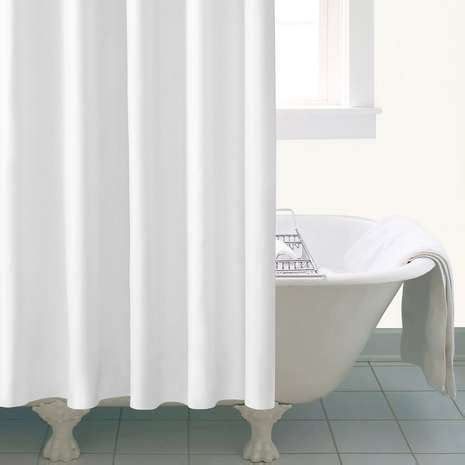 Dunelm Shower Curtains by Ceramic Extra Long White Shower Curtain Dunelm