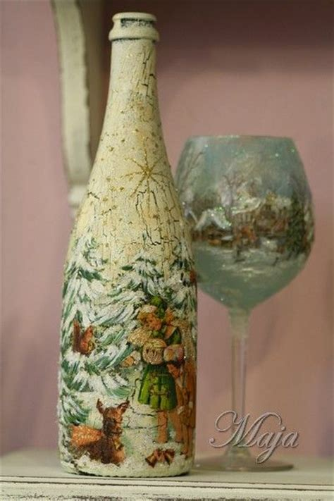 bottle decoupage 17 best images about decoupage on a bottle on