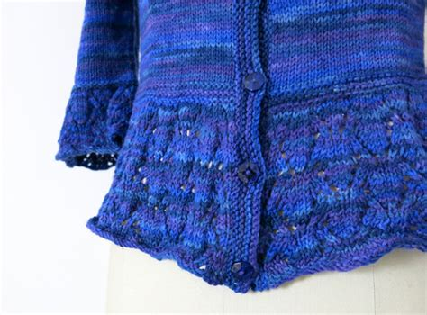 knit picky definition sharee cardigan from in bloom azalea and rosebud knits