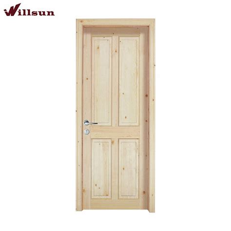 interior doors solid unfinished interior wood doors durable unfinished solid