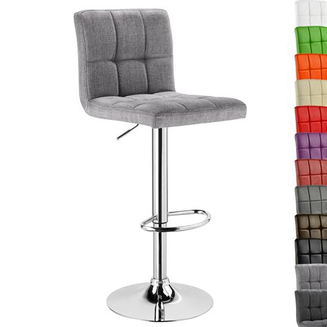 swivel bar chairs with backs 1 x faux leather bar stools with back swivel kitchen