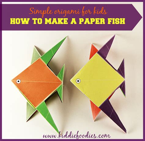 how to make a fish origami simple origami for how to make a paper fish