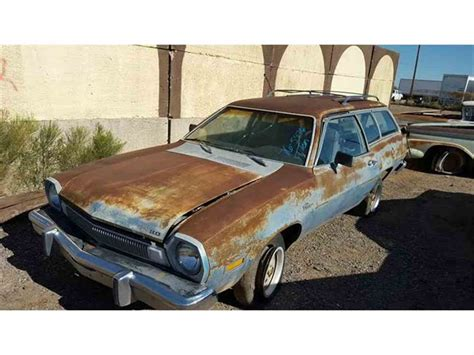 Ford Pinto For Sale by 1976 Ford Pinto For Sale Classiccars Cc 827906
