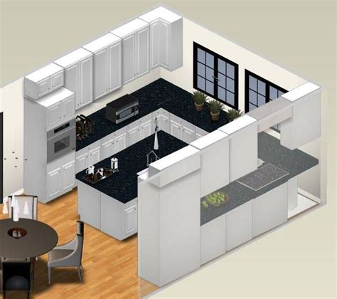 U Shaped Kitchen Layout Ideas best 25 u shaped kitchen diy ideas on pinterest
