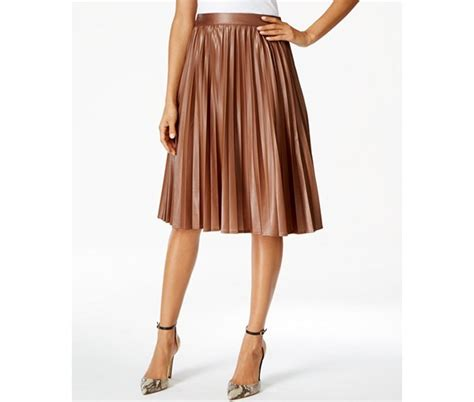 leather pleated skirt want pleated faux leather midi skirts and beautiful
