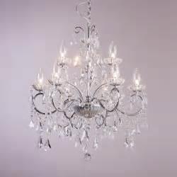 chandeliers ceiling lights vara 9 light bathroom chandelier chrome