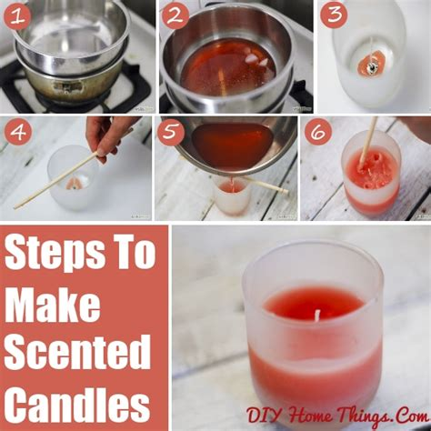 how to make scented how to make scented candles diy home things