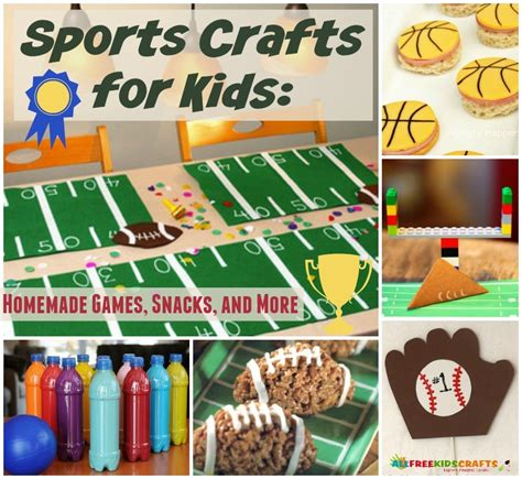 sports themed crafts for 23 sports crafts for and other sports