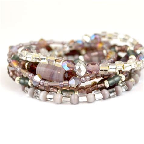 bracelets beginners stacked bracelets for jewelry beginners happy hour projects