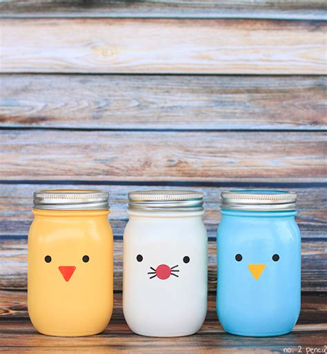 craft projects with jars easter jars craft