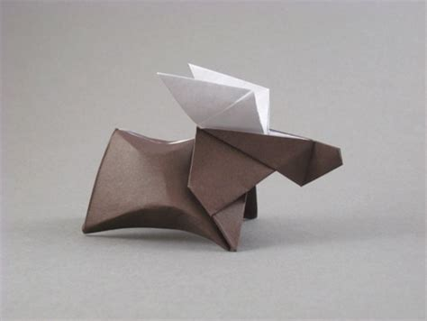 origami moose origami moose simple instructionsorigami moose simple