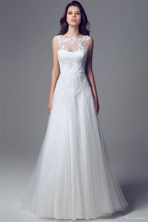 wedding gown with blumarine bridal 2014 wedding dresses wedding inspirasi