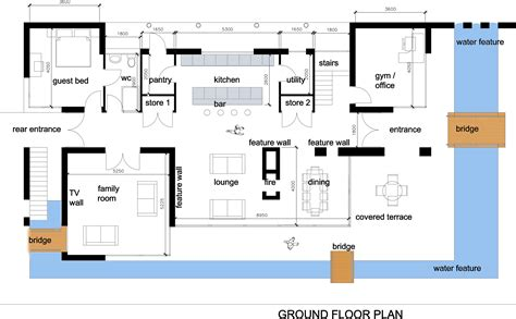 modern houses floor plans house interior design modern house plan images