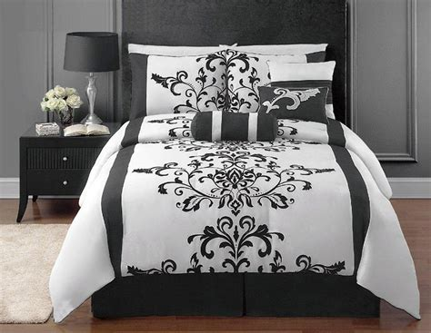 white bedroom comforter sets black and white bedrooms a symbol of comfort that is